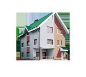 Трехэтажный дом с мансардой