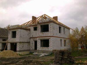 Строительство домов из газосиликатных блоков