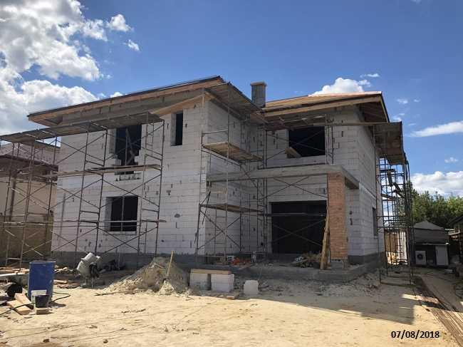 строительство дома из газосиликатных блоков недорого
