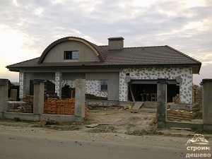 Строительство дома Горки 10