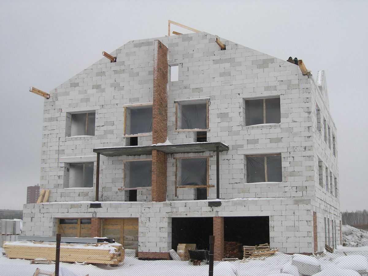 Строительство дома в Жаворонках