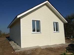Строительство дома эконом