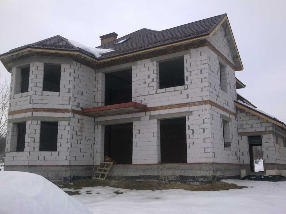 Цена строительства дома из блоков