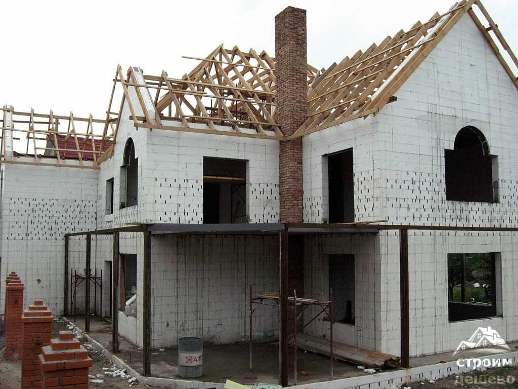 цена строительства дома из несъемной опалубки