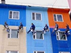 фасадные работы дешево