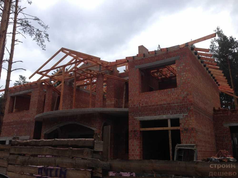 цена строительства дома из кирпича