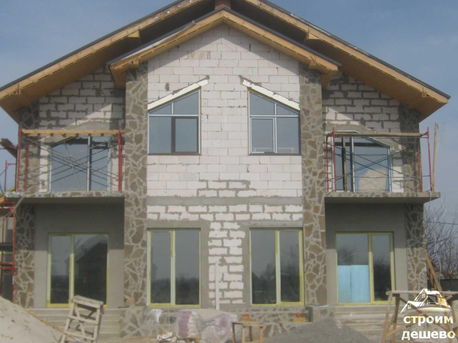 Строительство частного дома г.Щербинка