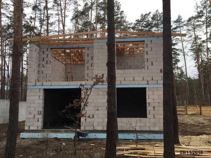 строительсво домов из пеноблока цены