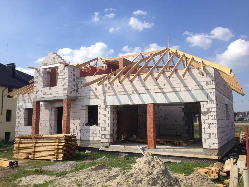 строительство домов из пеноблоков недорого