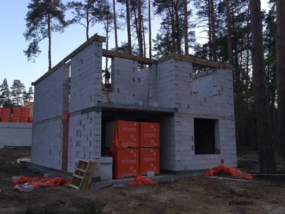 строительство домов из пеноблоков в подмосковье