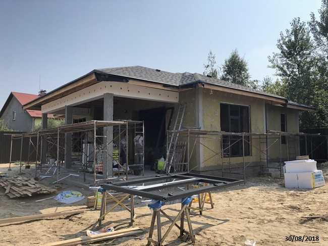 строительство одноэтажных домов под ключ