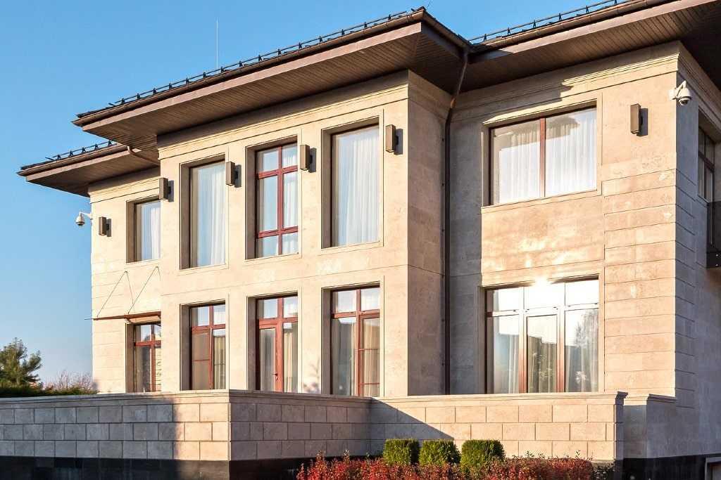 строительство дома на рублевке