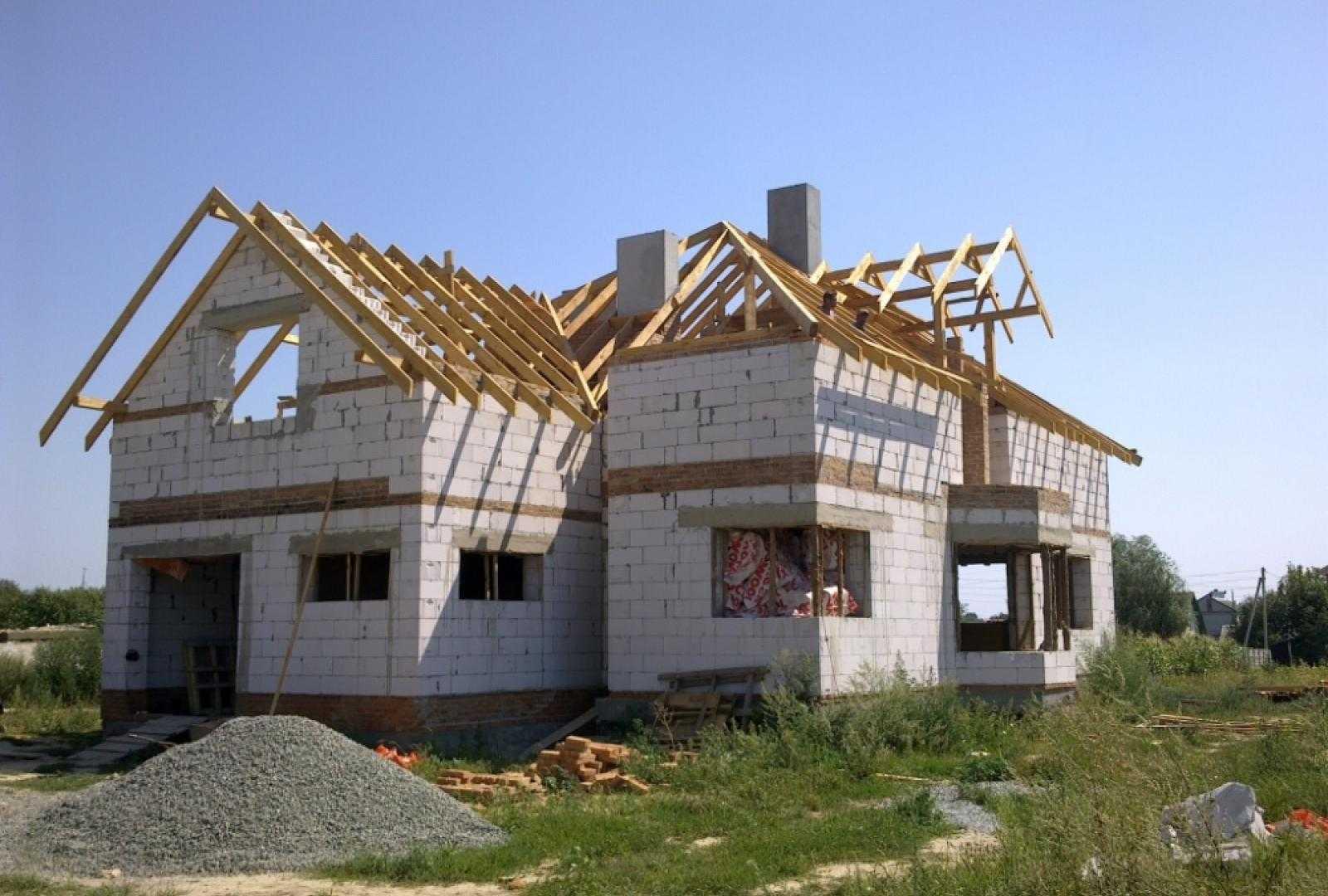 Строительсво дома с цокольным этажем