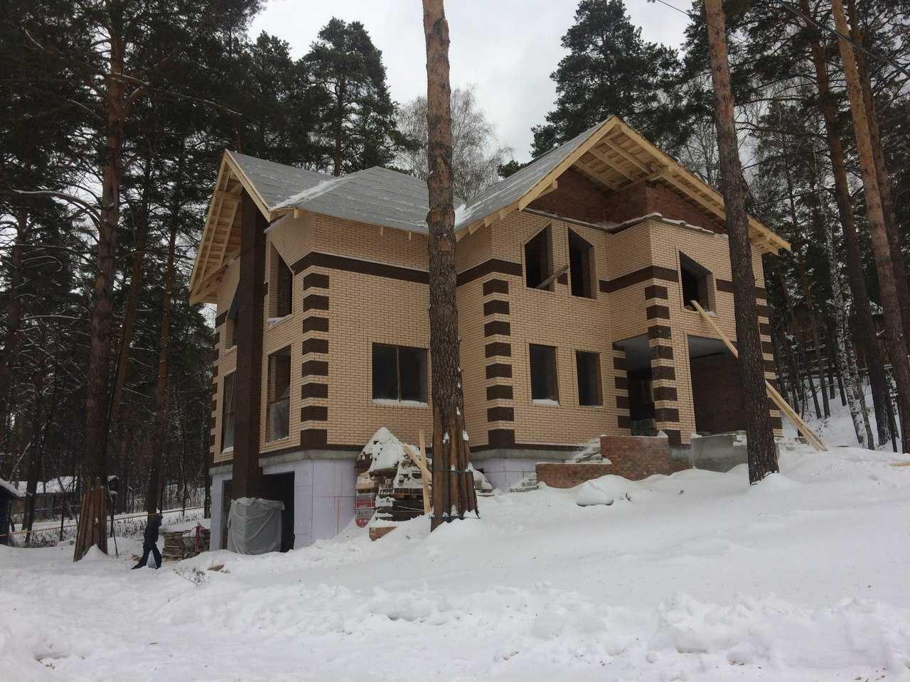 строительство трехэтажного коттеджа
