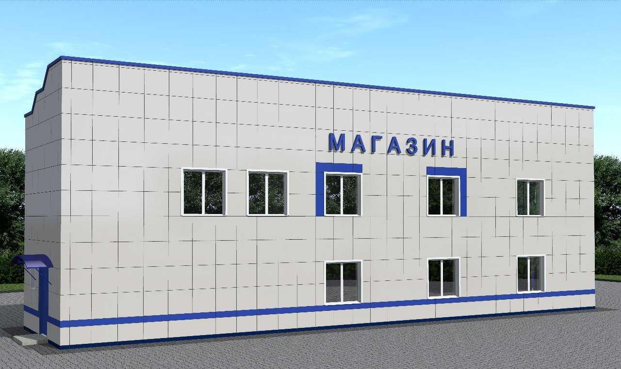 строительство магазинов под ключ