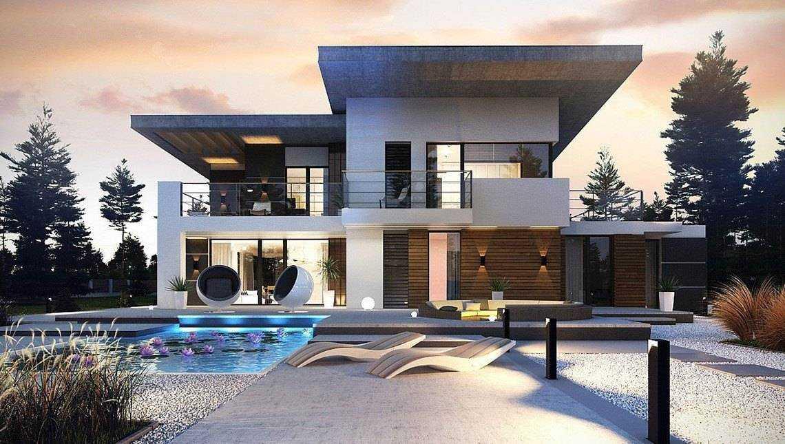 Строительство домов с плоской крышей проект