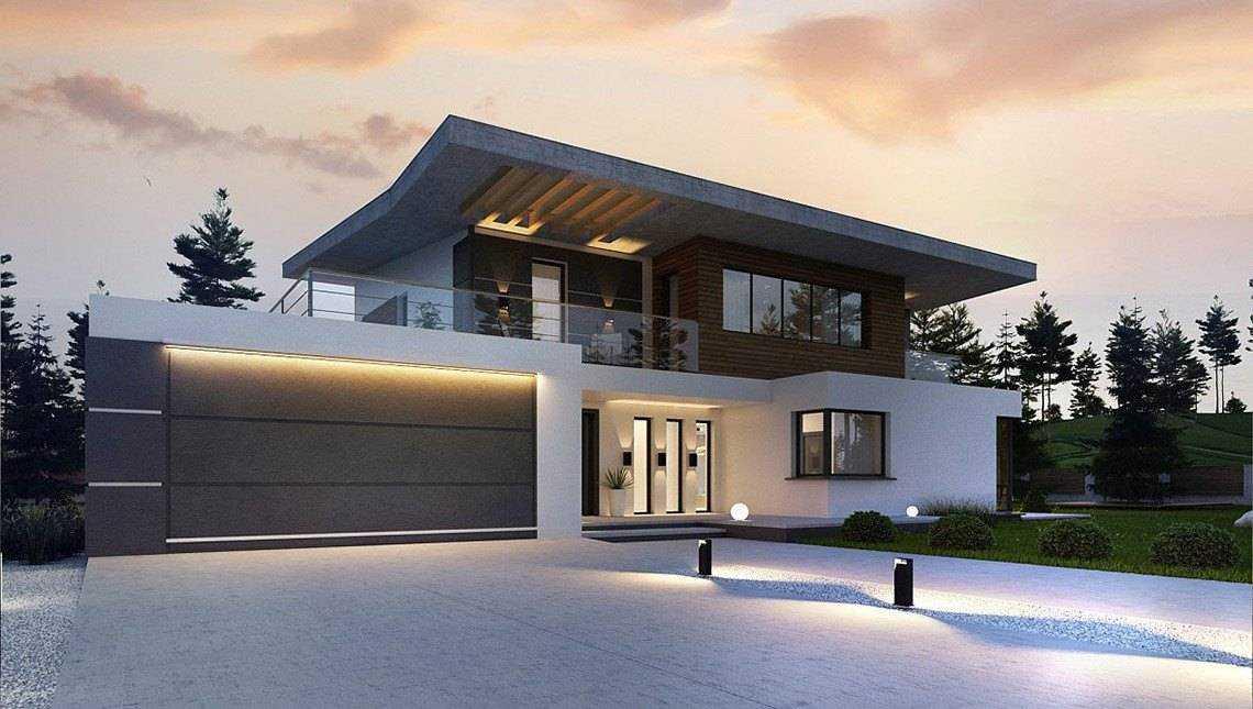 Строительство домов с гаражом проект