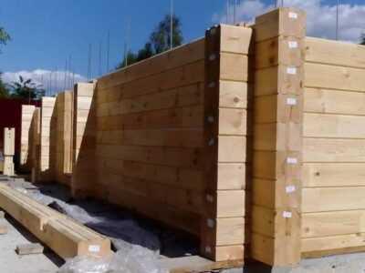 строительство домов клееный брус