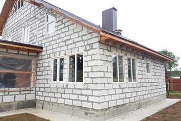doma iz penobloka gl - Строительство домов