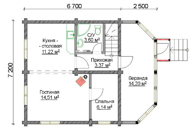 meridian 1 - Мандарин